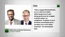 Jyske Bank og Nykredit dropper realkreditstrid