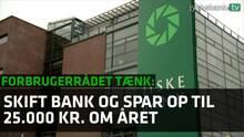 Forbrugerrådet Tænk: Jyske Bank er igen 'Bedst i test'