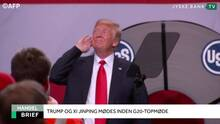 Finans Brief: Afgørende møde mellem Trump og Xi Jinping
